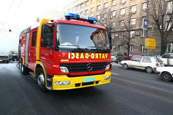 Belgrade's Mercedes-Benz Atego Watertender