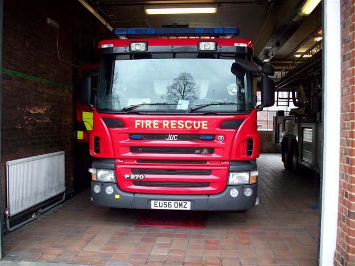 Essex County Fire and Rescue Service, Colchester