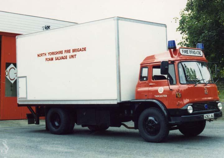Bedford Prime Mover North Yorkshire Fire brigade