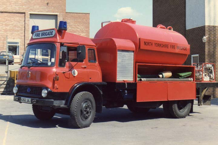 Bedford Water Carrier North Yorkshire Fire Brigade