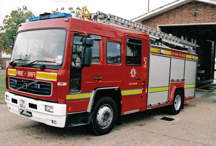 East Sussex FRS Y91GNJ Volvo Hailsham