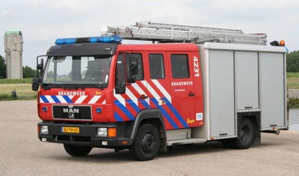 4231 fire brigade Tholen