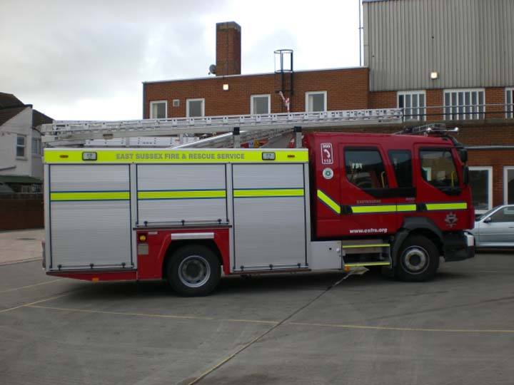 East Sussex new Volvo FLL-15 at Eastbourne