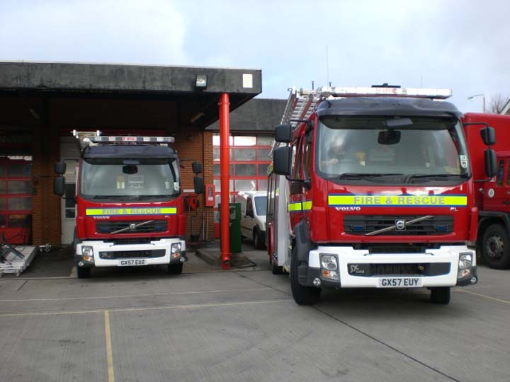 East Sussex Echo 11 and training appliance
