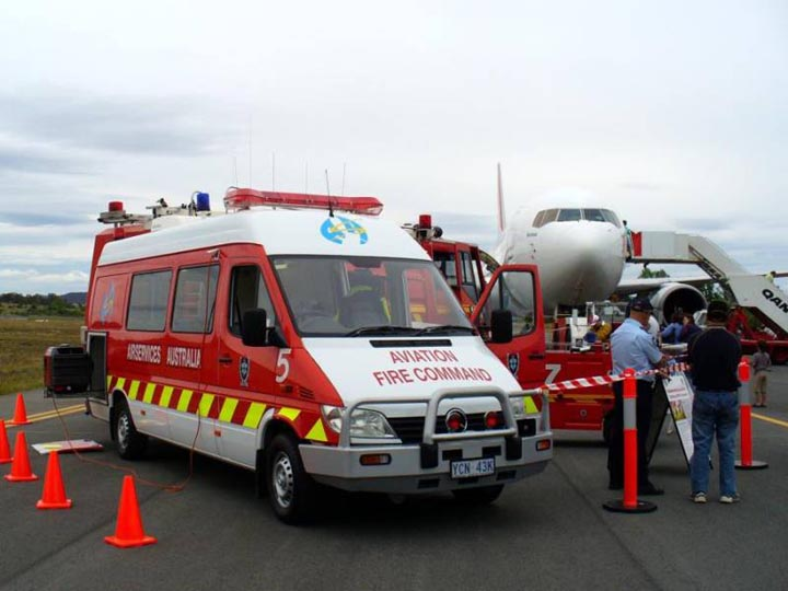 ASA ARFF, Command unit Canberra Airport
