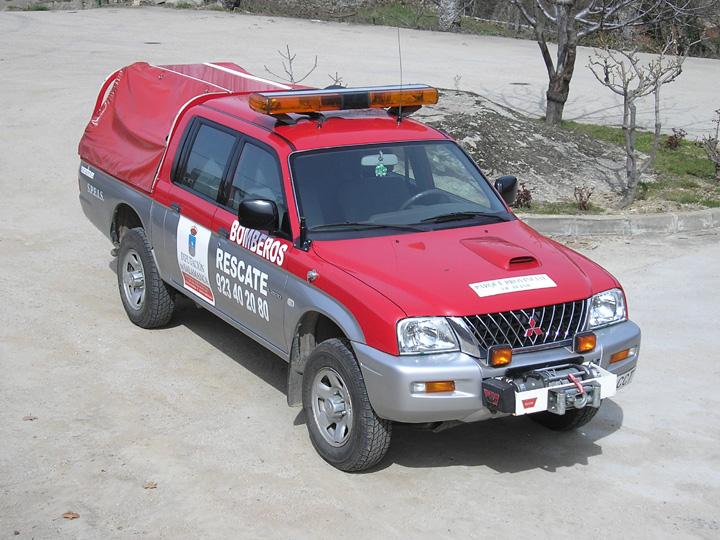 Spain-Bomberos Bejar Mitsubishi (2004)
