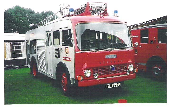 1971 Bedford TK/HCB Angus Dorset Fire Brigade