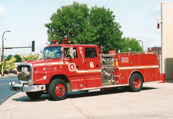 Minneapolis Ford Engine 6