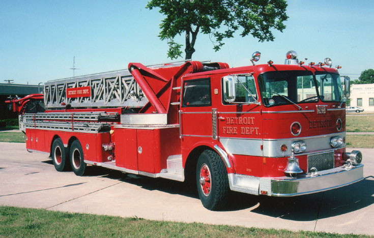 Detroit Fire Department Ladder 6