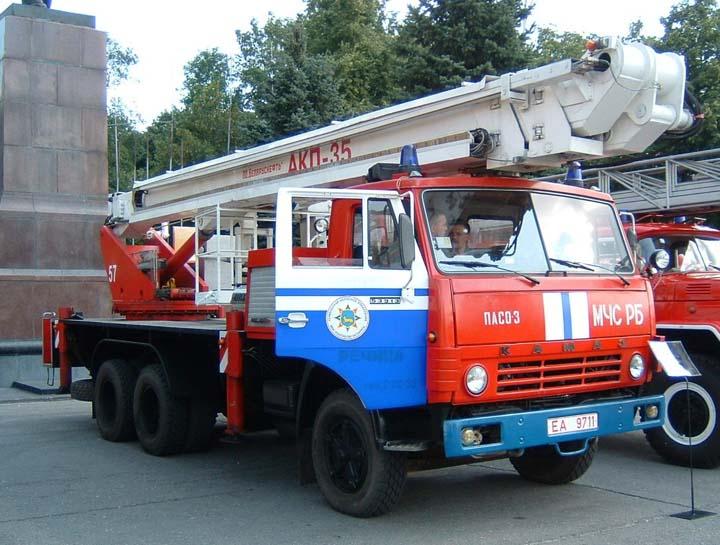Kamaz Hydraulic Platform Gomel Belarus