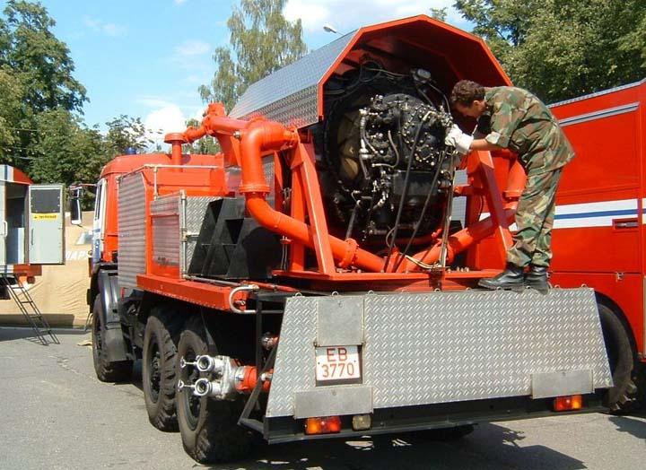 Kamaz Fire Engine Gomel Belarus