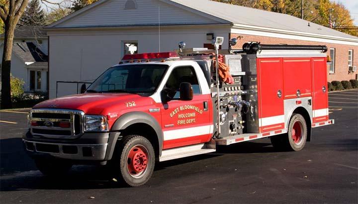 East Bloomfield-Holcomb (NY) Engine 752