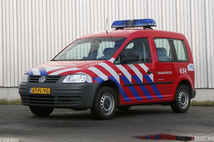 Brandweer Amersfoort Volkswagen Caddy 67-PL-VG