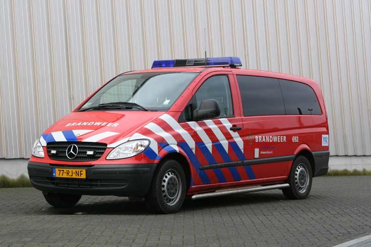 Brandweer Amersfoort Mercedes Benz Vito