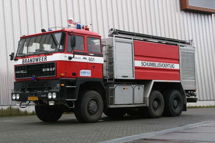 Regional Fire Brigade Utrecht Foam tender