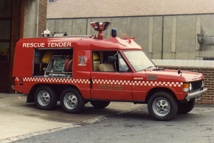 Fire engines photos cleveland range rover rescue tender
