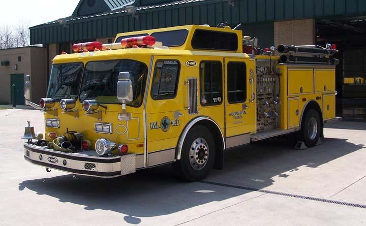 OWL Volunteer Fire Department E-One