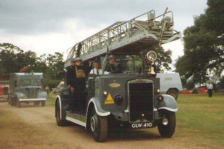 1942 Leyland TD7 /Merryweather Turntable ladder