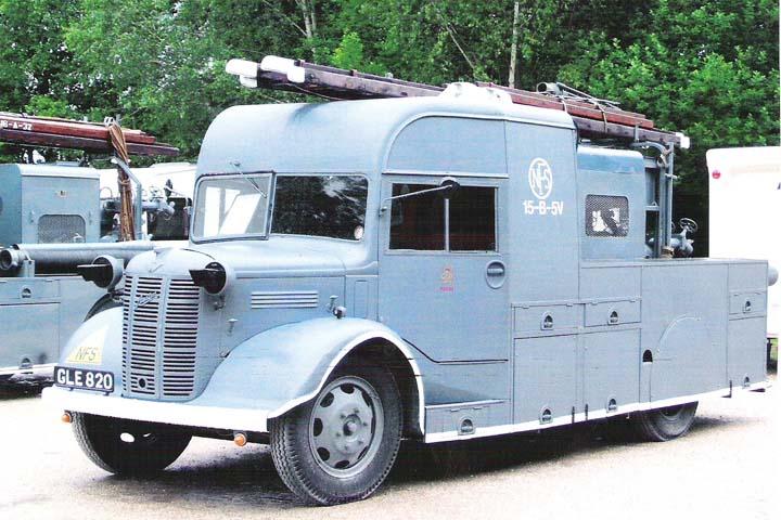 1941 Austin K2 Heavy Pumping Unit (reg GLE 820)