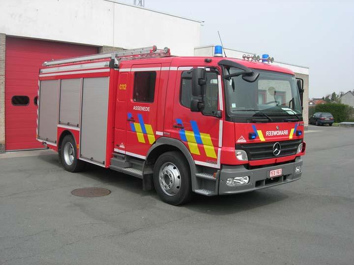 Brandweer Assenede Mercedes Benz Atego