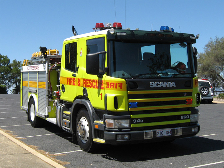 ACTFB B1, Scania P94D pumper, Australia