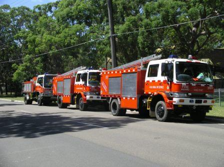 Hino 4x4 fire engines