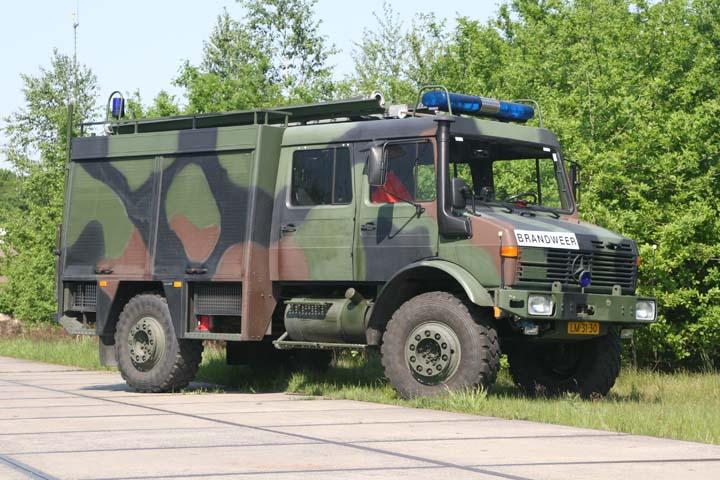 Dutch Airforce Gilze-Rijen Mercedes Benz Unimog