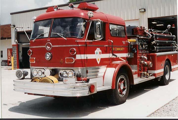 Tri-Community VFD Old Engine 1244