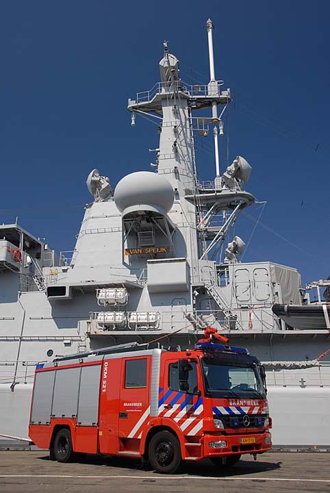 Royal Dutch Navy Mercedes Atego tender