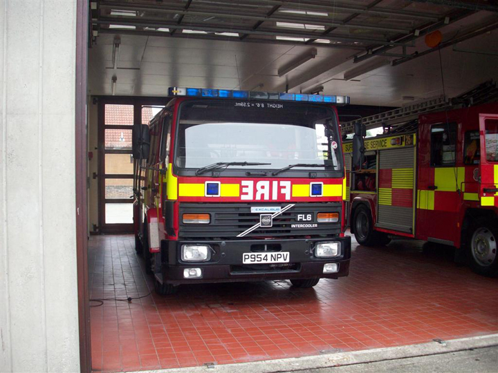 Suffolk Fire and Rescue Service - Reserve Tender