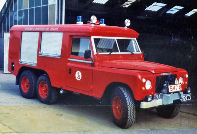 Hereford & Worcester Fire Brigade Land Rover