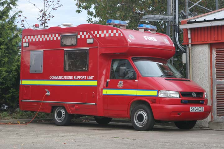Highlands & Islands Fire and Rescue Service VW
