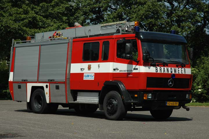 Brandweer Westland Mercedes Ecoliner
