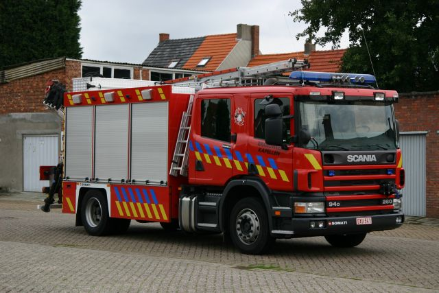 Brandweer Kapellen Belgium Scania Rescue Unit