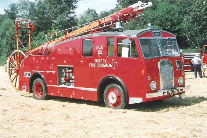 Ex-Surrey Fire Brigade 1951 Dennis F12 Pump Escape