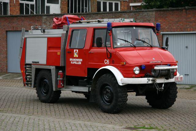 Brandweer Kapellen Belgium Unimog