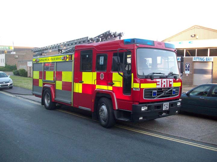 Suffolk Fire and Rescue - Stowmarket