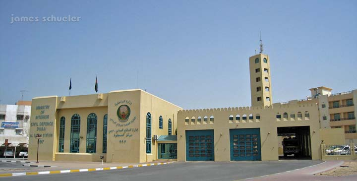 Dubai Civil Defence Fire station