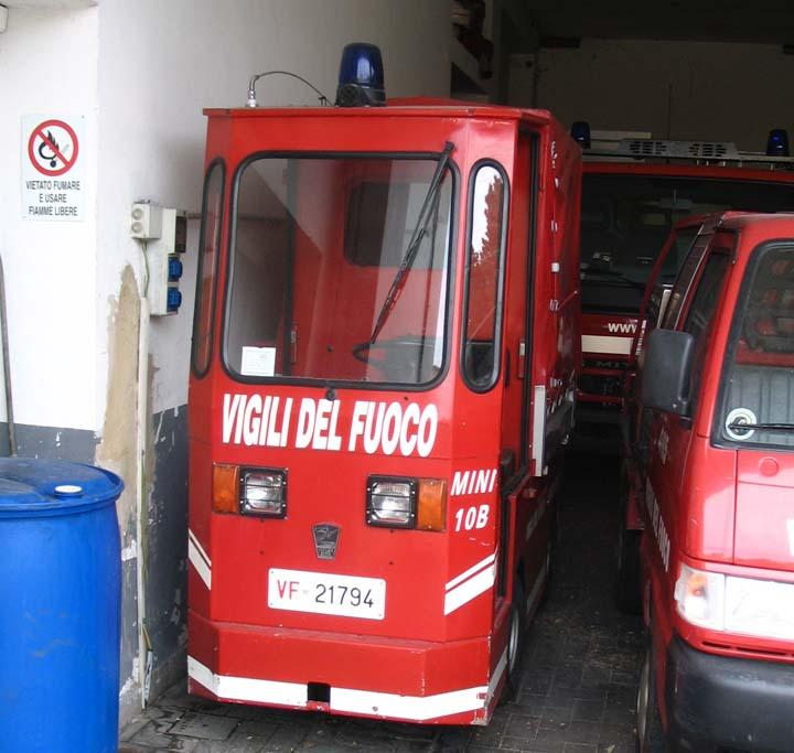 Vigili del Fuoco Capri Italy small appliance