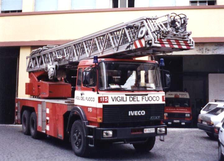 Vigili del Fuoco Rome Italy Iveco Fiat TK