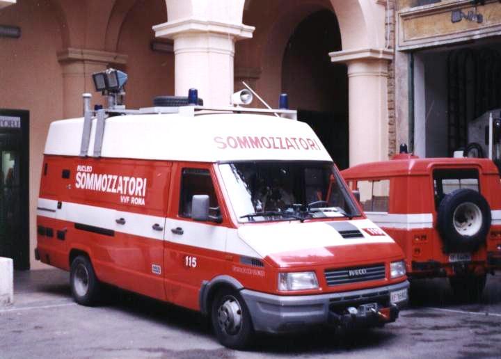 Vigili del Fuoco Rome Italy Iveco Fiat Daily