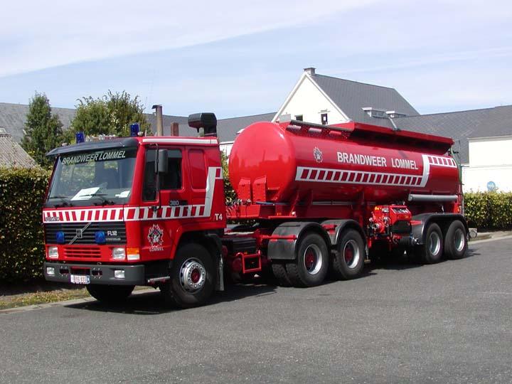 Brandweer Lommel Volvo FL12 Water carrier