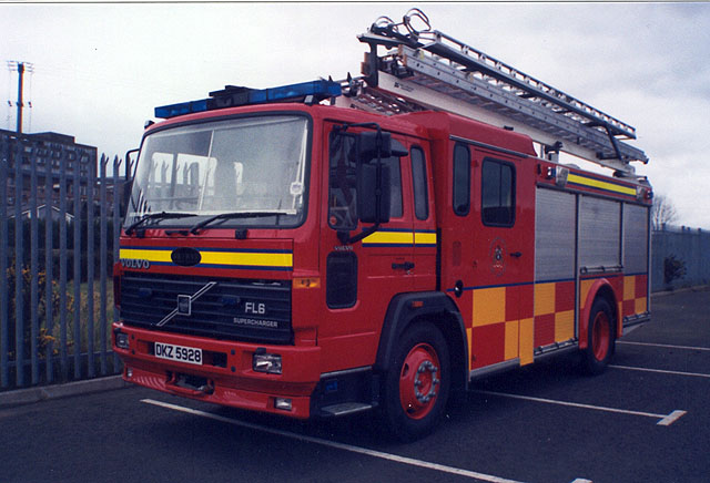 Volvo FL6 Newry fire station