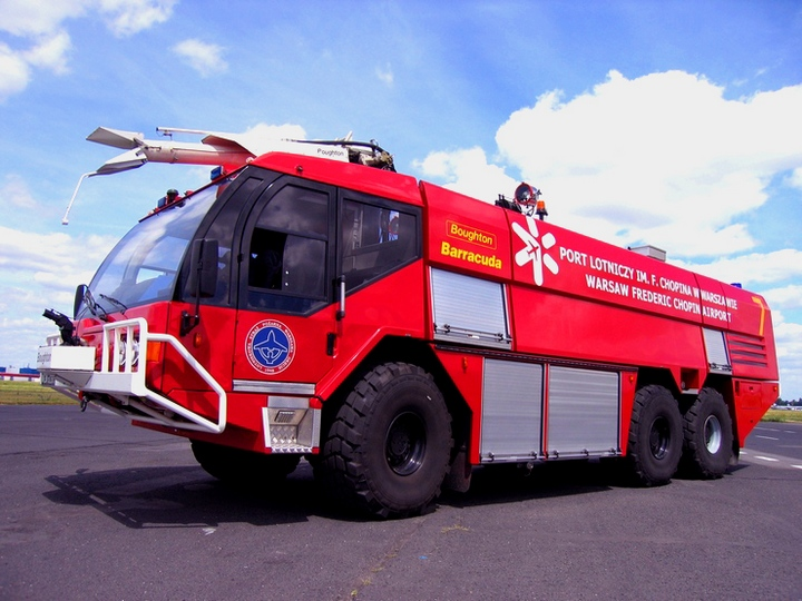 Warsaw Airport Fire service Reynolds Boughton