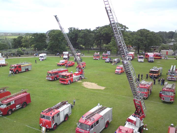 Preston Park Fire Engine Rally 2008 overview