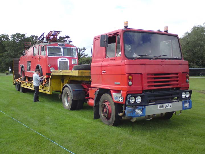 A Dennis F12 on transport