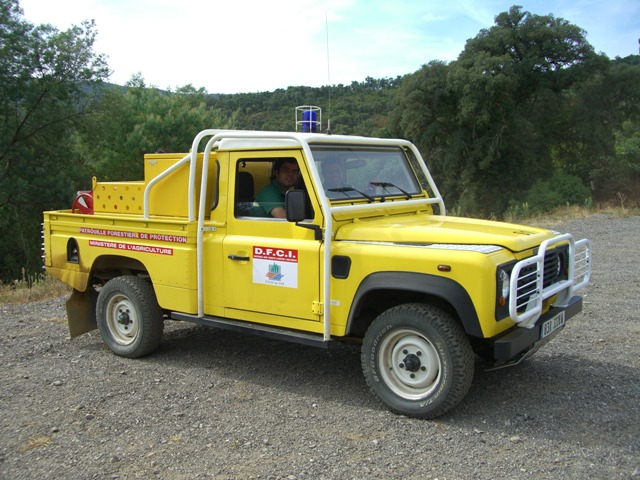 C.C.F.L. Landrover 110 - 600 litres