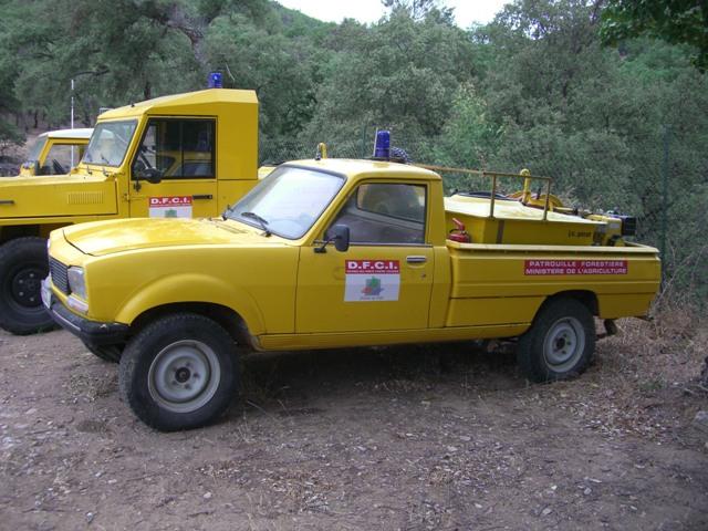 CCFl Peugeot 305 Dangel 600 litres