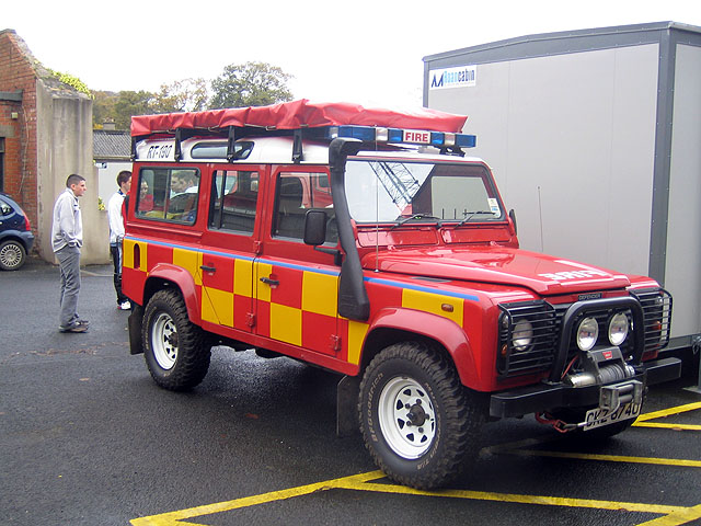 Landrover Search and Rescue Northern Ireland