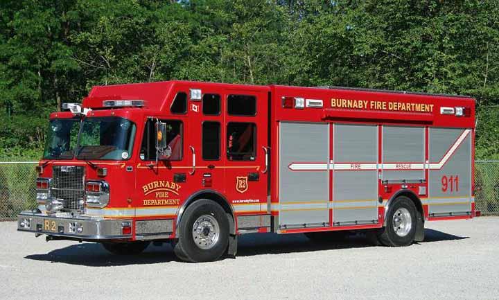 Burnaby, BC Canada - Heavy Rescue Unit
